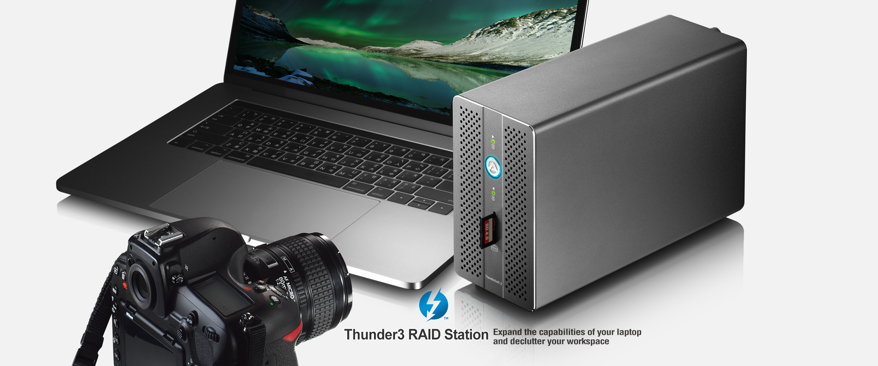 AKiTiO Thunder3 Raid Station